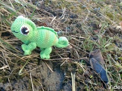 Crochet Chameleon (Milla)