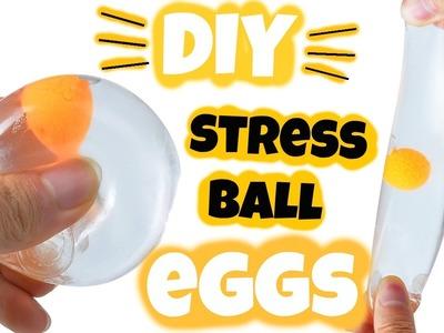 DIY BALLE  ANTI-STRESS  OEUF l JustJonathan