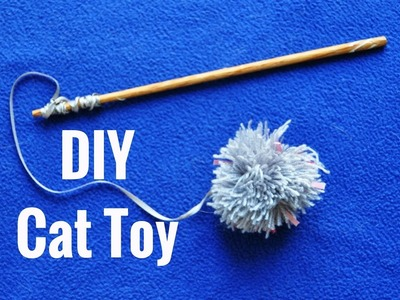 DIY - Juguete para gato. Jouet pour chat. Toy for cat