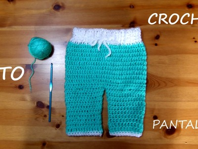 TUTO CROCHET COMMENT FAIRE UN PANTALON