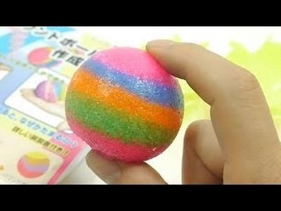Diy Fabriquer Boule Multicolor Pour Enfant - fabrication de jouets de sikwan jouets faits à la main