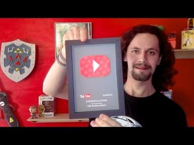 Fabriquer le trophée Youtube 100 abonnés ! Tutoriel DIY
