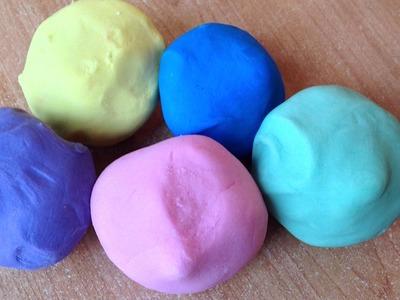 Tuto.DIY recette pâte fimo.pâte autodurcissante colorée