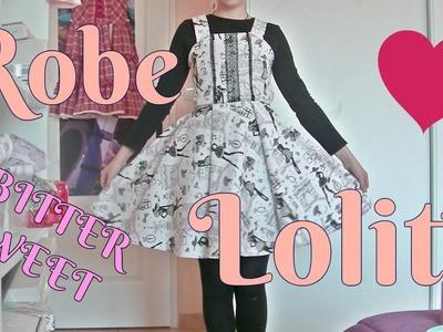 TUTO :JSK lolita dress (Bittersweet lolita) DIY