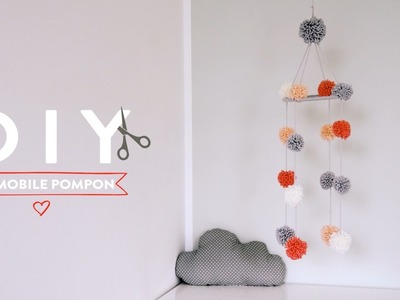 Un mobile pompon pour bébé - DIY Westwing France