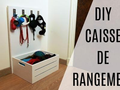 DIY | CAISSE DE RANGEMENT | Inspiration Elisa & Leeloo
