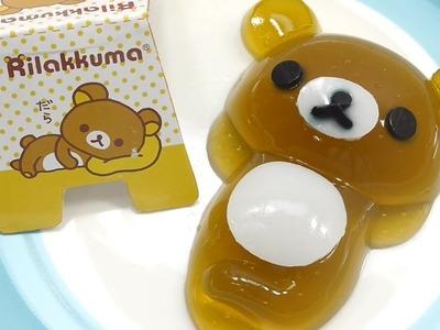 Diy Commen Faire Nounours  Rilakkuma Slim Gelee Recette Cuisine Pour Enfant