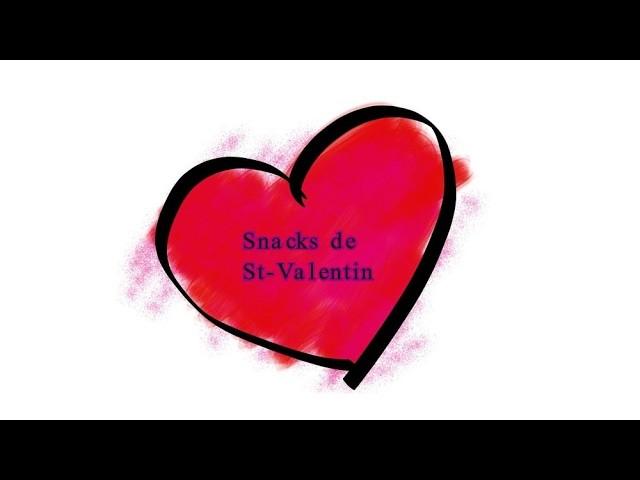 DIY Idée De Snacks Pour La Saint Valentin