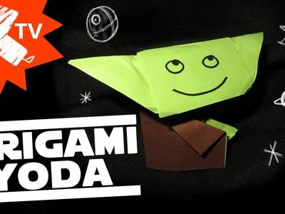 Origami Yoda ⎮Les pliages et griffonnages d'ART2-D2