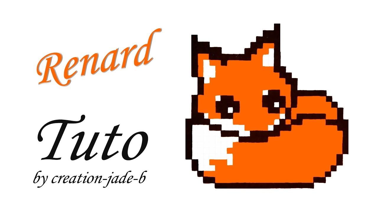 Tuto Pixel Art - Petit Renard. Fox
