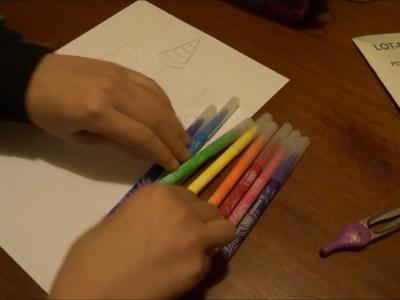DIY : Comment dessiné une licorne snapchat
