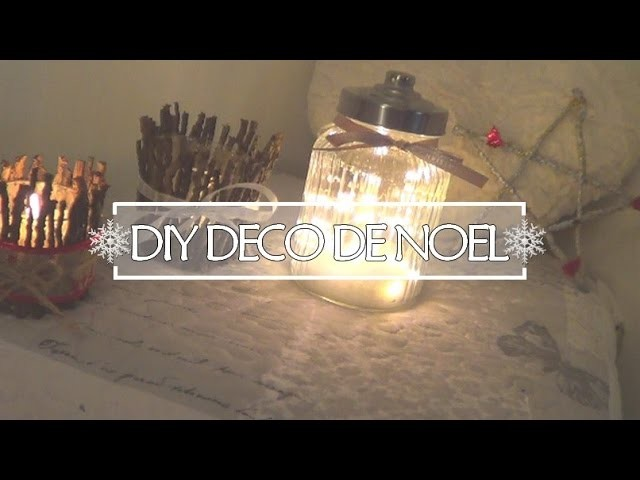 diy d co de noel. Black Bedroom Furniture Sets. Home Design Ideas