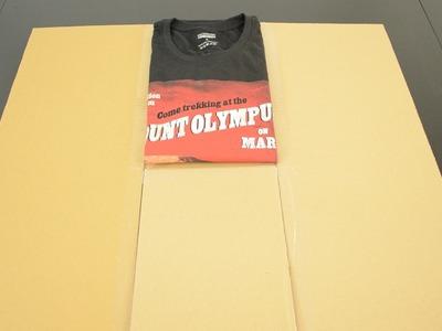 DIY : Réalisez votre plieur de tee-shirt