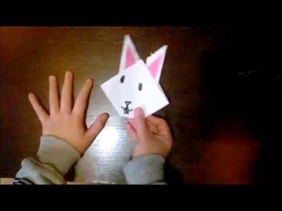Lapin en Origami #TCHEK 01