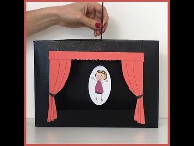 Théâtre de marionnettes - Activité manuelle - Bricolage pour enfants - DIY