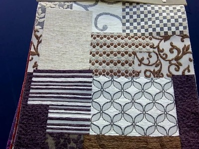 Tissus fantaisie pour fauteuils tapissés : PATCHWORK et GEOMETRIC
