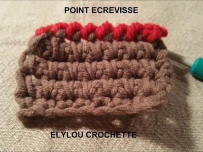 Cours n°13: Le point de finition écrevisse facile au crochet !