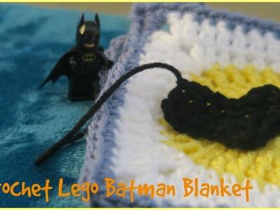 CROCHET LEGO BATMAN BLANKET