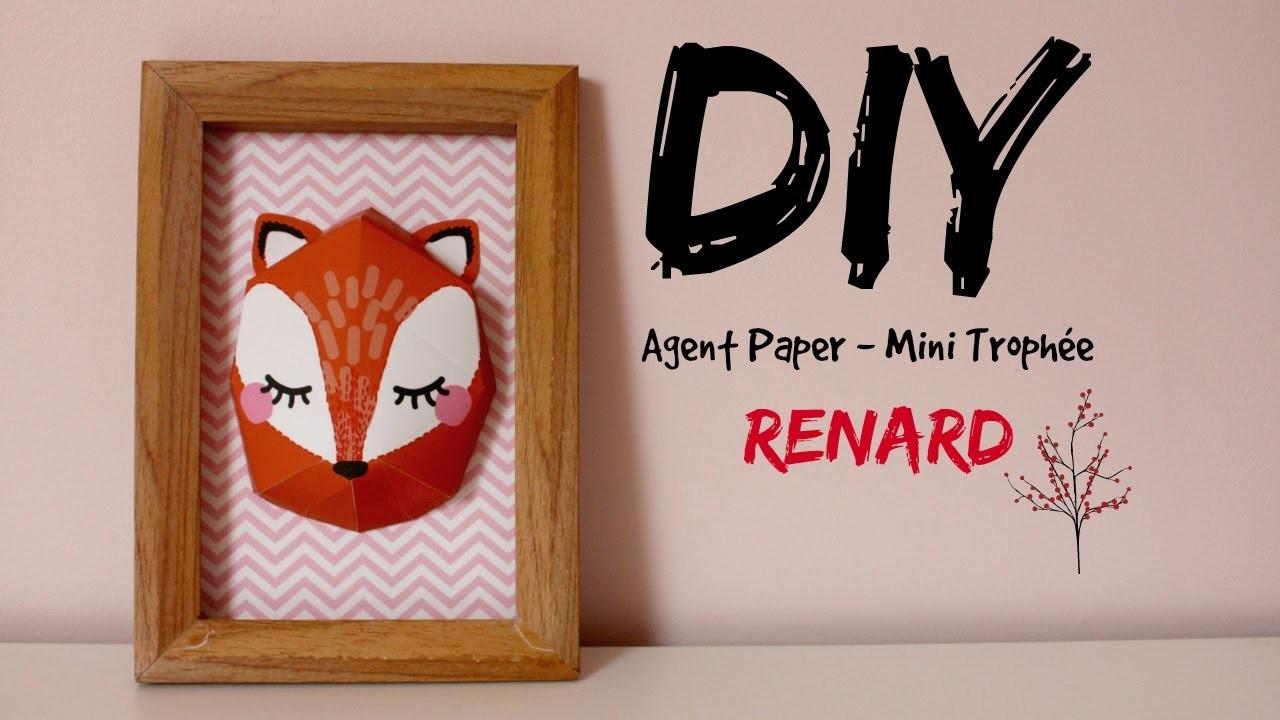 DIY Cadre Renard - AGENT PAPER