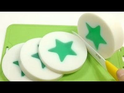 Diy Comment Faire Une Etoile Avec de La Gelee Imitation Pudding Cuisine Jouet Pour Enfant Slim Clay