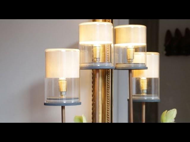 DIY : créez votre lampe rétro !