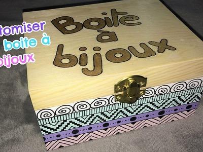 DIY : Customiser une boite à bijoux
