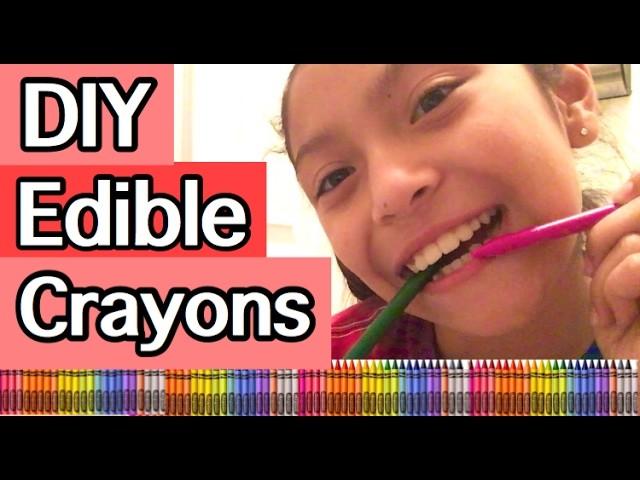 DIY EDIBLE CRAYONS!