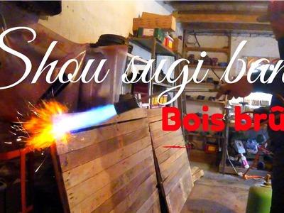 DIY Mur en Palettes (technique bois brûlé)