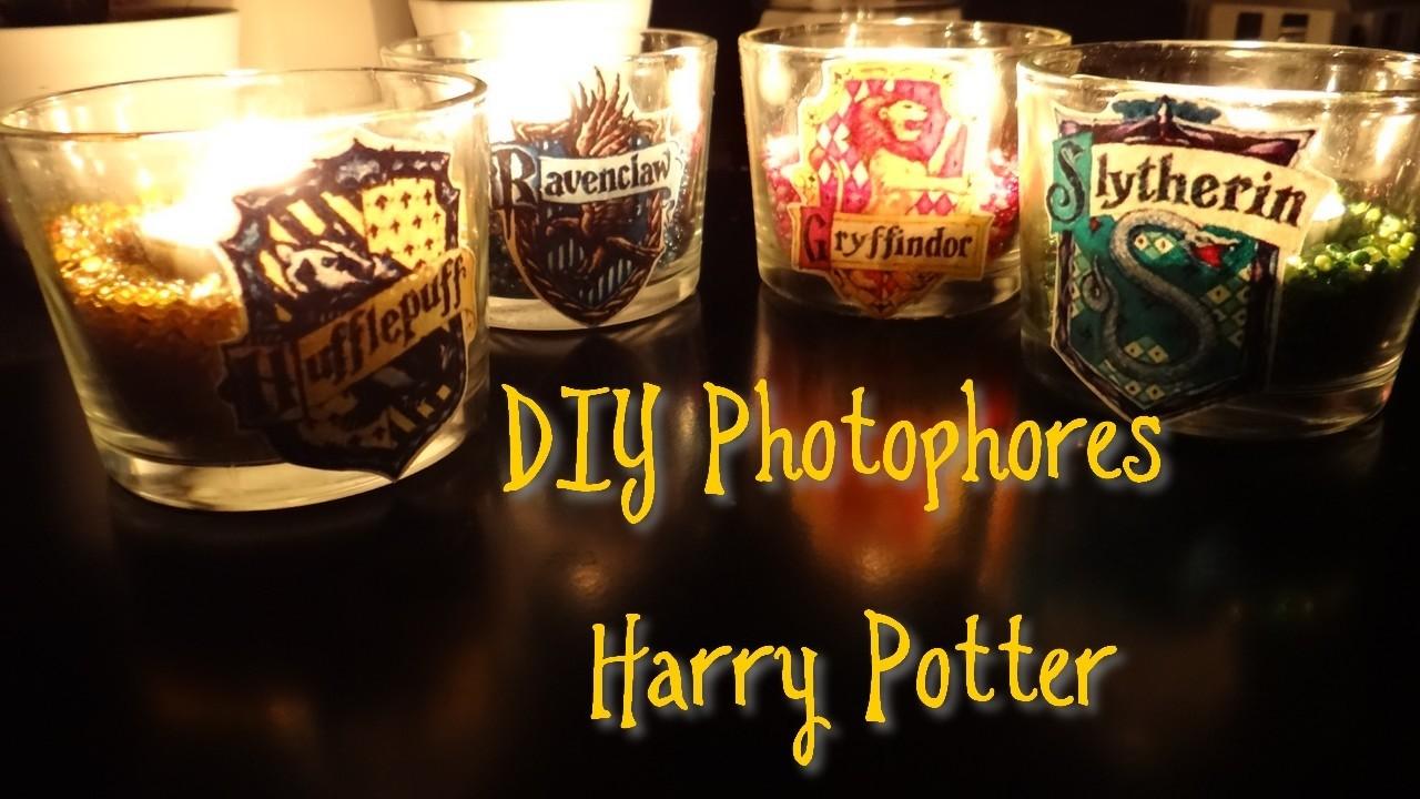 DIY - Photophores aux couleurs de Poudlard