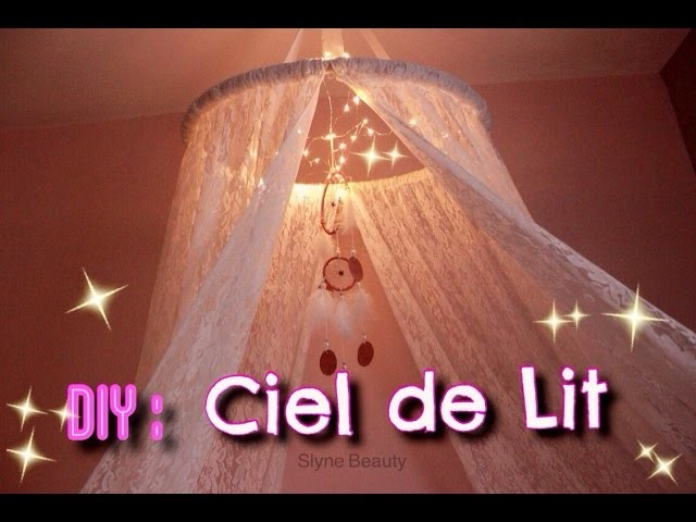 diy ciel de lit bed canopy romantic. Black Bedroom Furniture Sets. Home Design Ideas