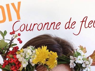 DIY: Couronne de fleurs