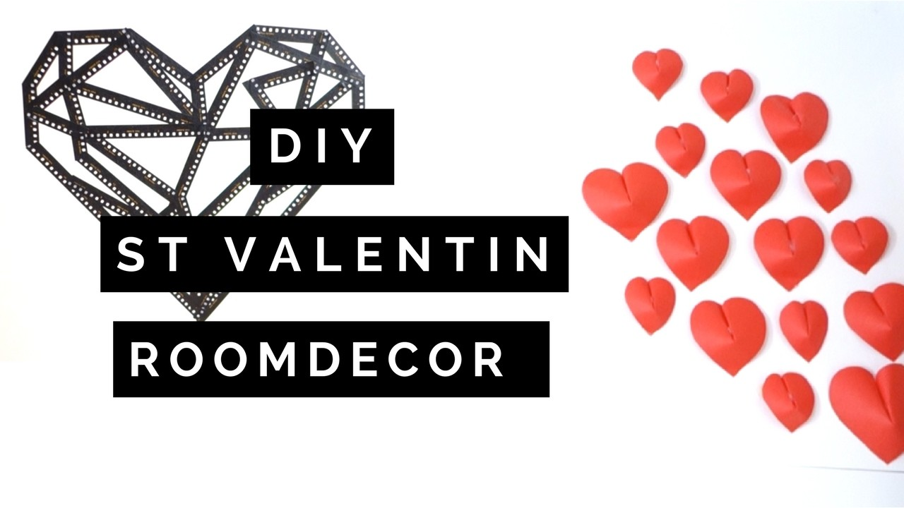 diy st valentin roomdecor. Black Bedroom Furniture Sets. Home Design Ideas