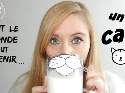 DIY : ???? tout le monde veut devenir UN CAT !!???? (customisation tasse)