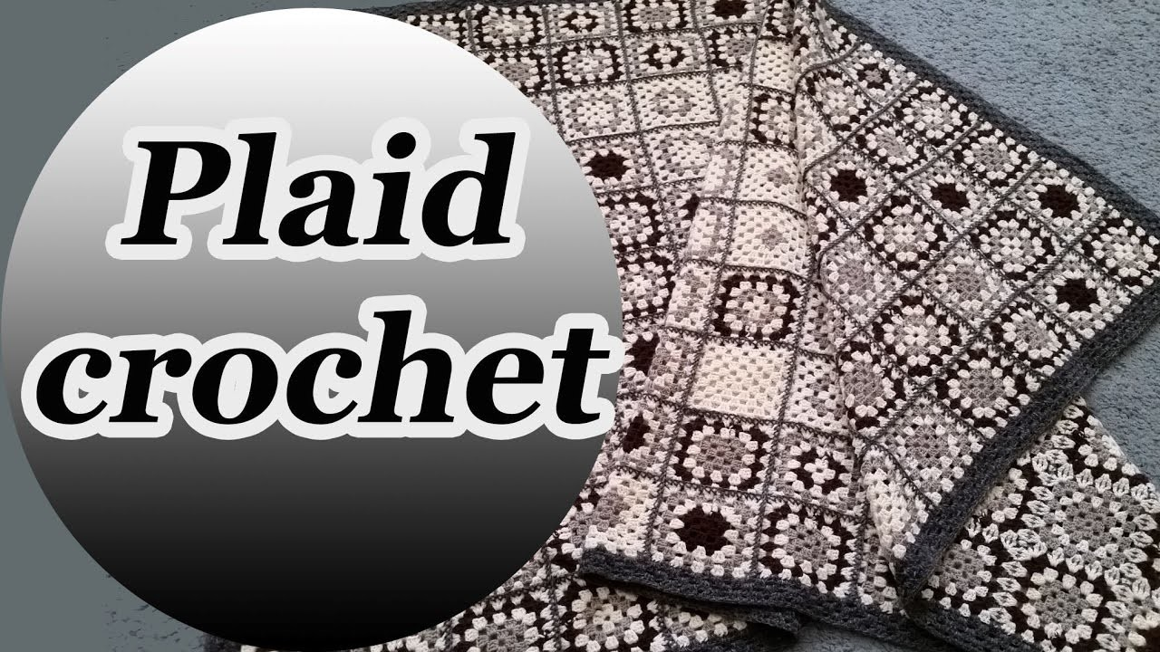 Plaid crochet