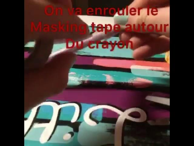 DIY ~Masking tape ~????