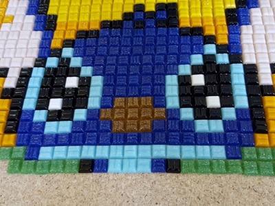 comment faire le petis batman pixel art pixel motic ne clin doeil. Black Bedroom Furniture Sets. Home Design Ideas