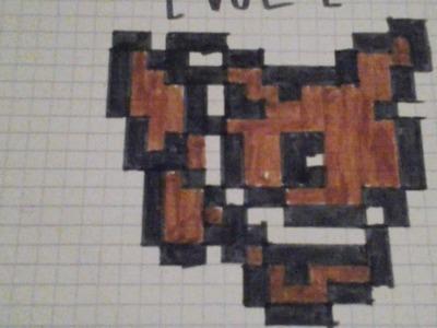 Mes pixel art de pokémon