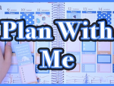 PWM #8 : Plan with me Janvier 2017 - kit Christmas Eve - Dessine-Moi un Sticker