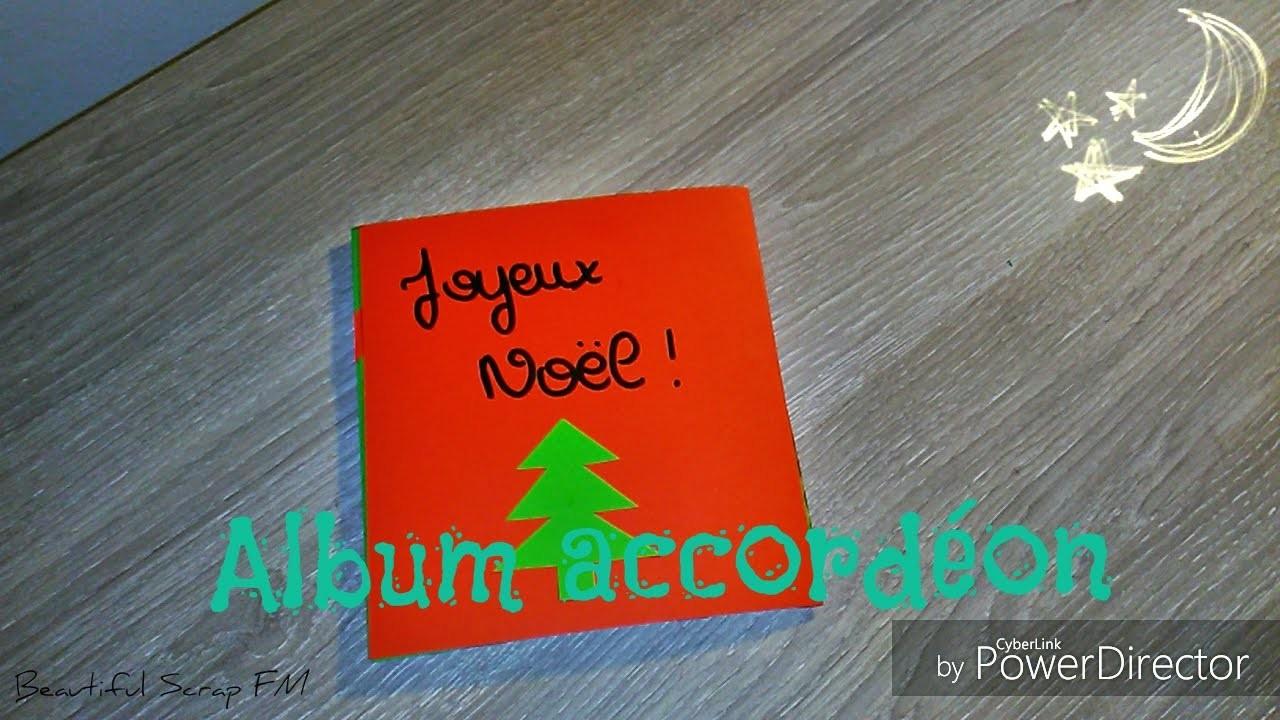Scrapbooking~ Album accordéon Noël