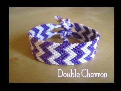 Bracelets Brésiliens Double chevron (intermédiaire)
