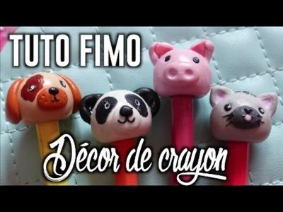 • [TUTO FIMO] Décoration de crayon •