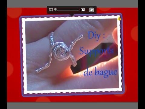 Astuce ♫ ❄ : DIY Supports de Bague