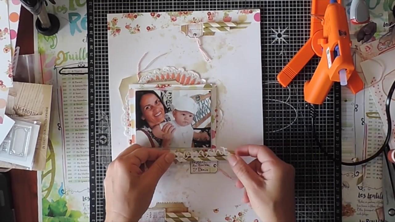 Scrapbook process #3  - Scrapbooking  A4 #216