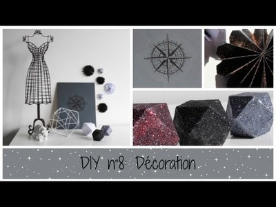 DIY n°8: décorations qui brillent