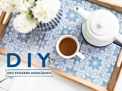 Des stickers mosaïques - DIY Westwing France