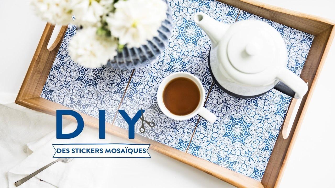 Des stickers mosaïques - DIY Westwing France