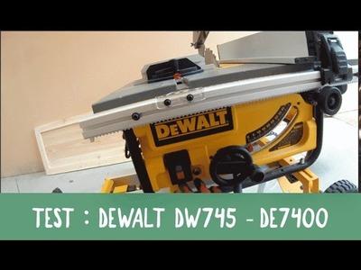 DIY-BOIS EP13 TEST DEWALT DW745 DE7400
