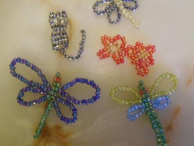 DIY : Libellule en Perles