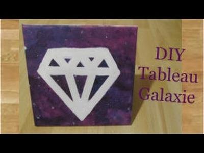 DIY Tableau Galaxie