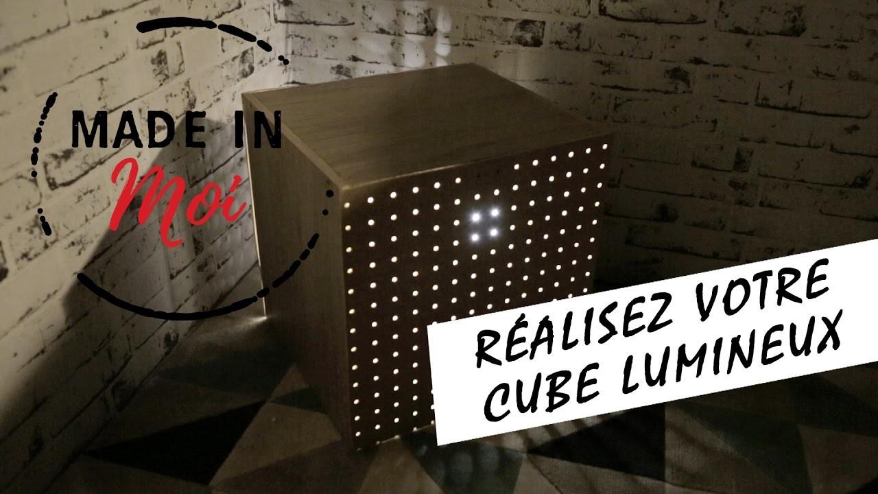 MADE IN MOI : comment créer un cube lumineux super canon ?